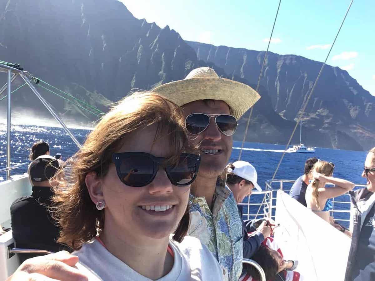 Napali coast catamaran trip