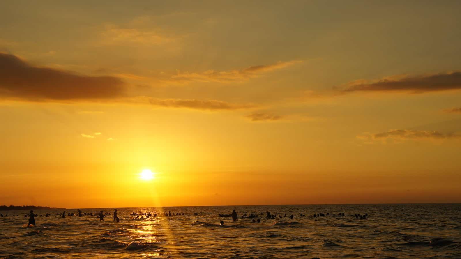 Guanabo sunset