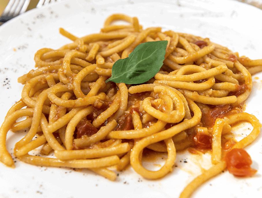 Pici - homemade spaghetti