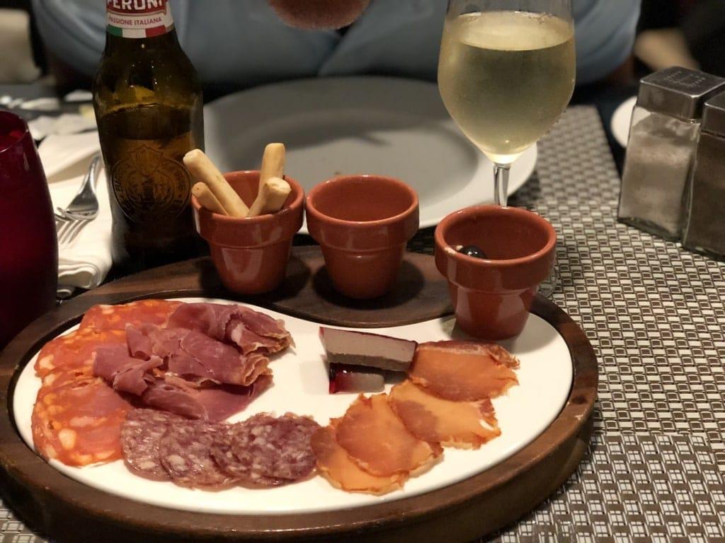 Spanish Restaurant on board