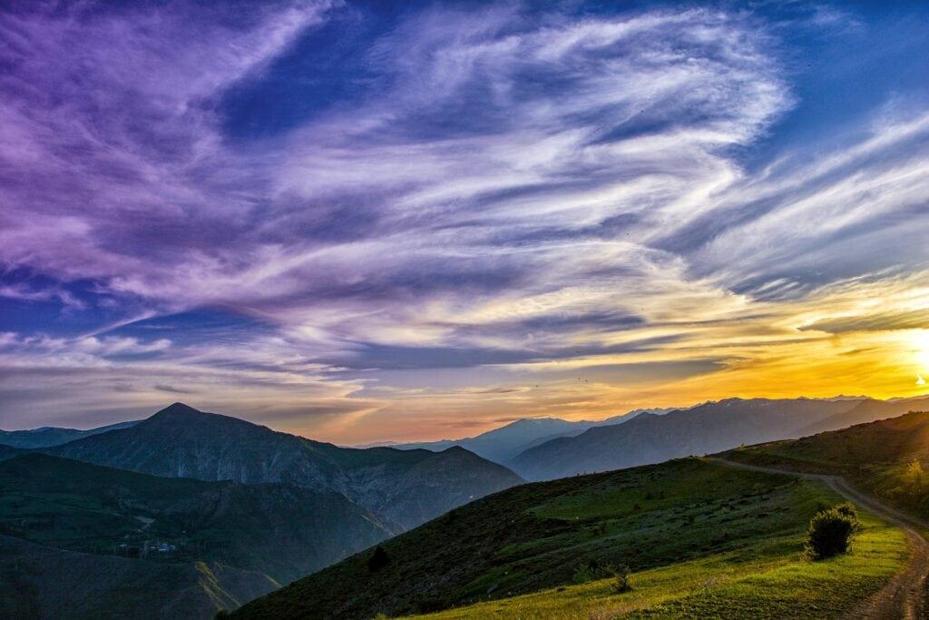 sunset - roadtrip quotes